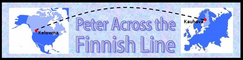 Peter Across the Finnish Line