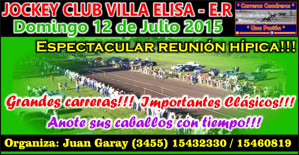 VILLA ELISA - 12.07.2015