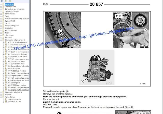 Renault Premium Workshop Service Manuals And Wiring Diagrams