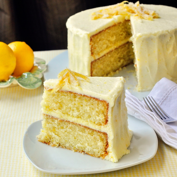 Lemon Velvet Cream Cake Recipes — Dishmaps
