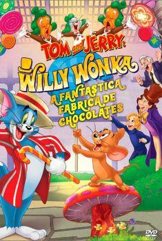 Tom e Jerry: A Fantástica Fábrica de Chocolates Torrent - WEB-DL 720p/1080p Dublado