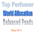 Top Performer World Allocation Balanced Mutual Funds 2011