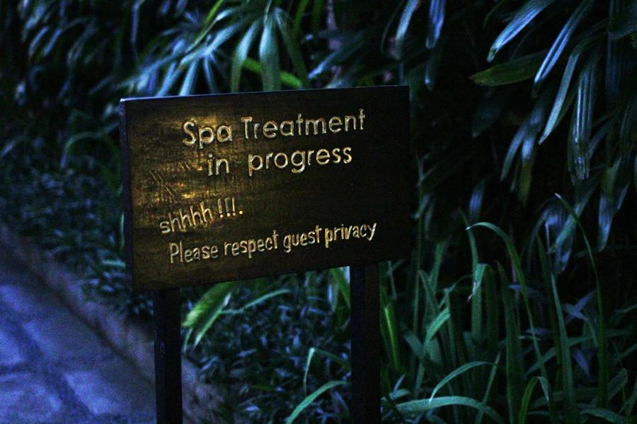 spa treatment bali sport