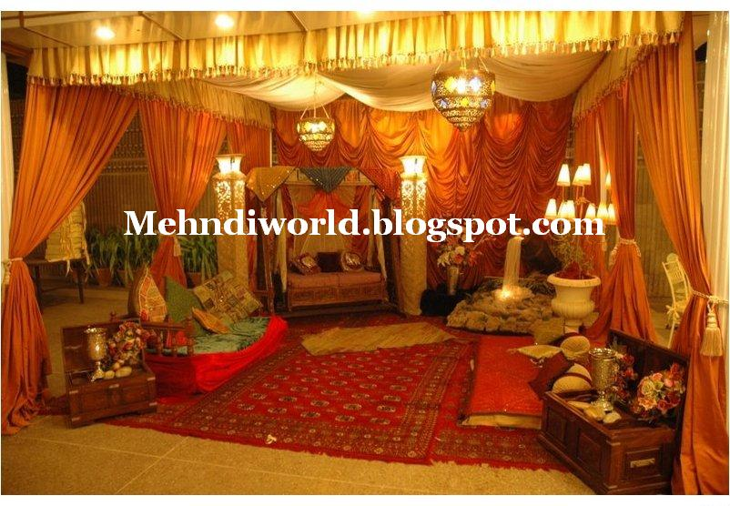 Mehndi designs 39 world pakistani indian arabian latest for Arabic stage decoration