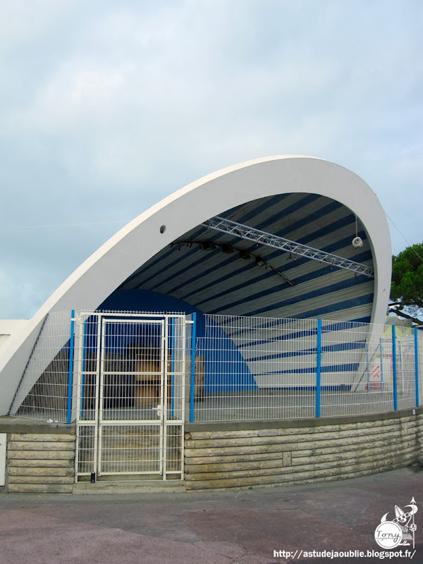 Royan - L'auditorium du front de mer  Architecte: Marcel Canellas  Construction: 1961