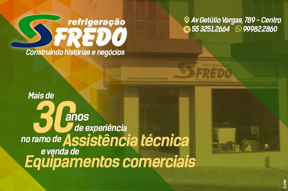 Refrigeração Sfredo em Santiago!