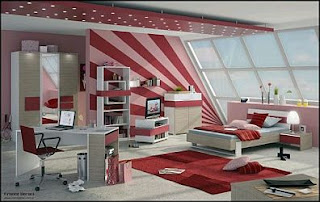 Rooms for Girls, Teens and Young, Decoration and Design