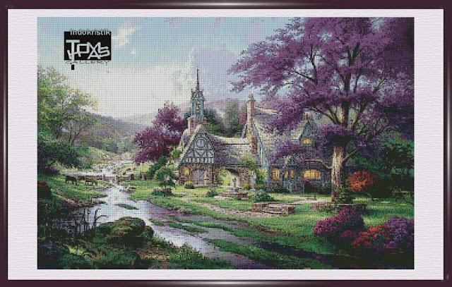 barat | landscape | painting | thomas kinkade |
