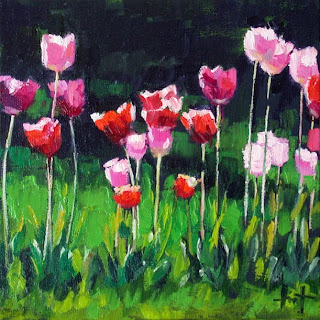 Karin's Tulips by Liza Hirst