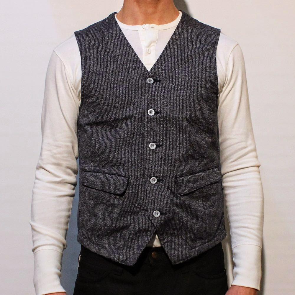 SUN/SET/STAR BIG JOHN Japanther waistcoat