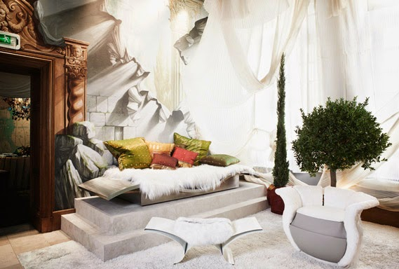 Fresh look at the luxury interior design and decor