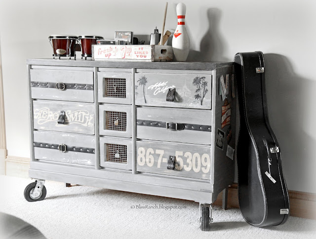 Rock & Roll Dresser, www.Bliss-Ranch.com