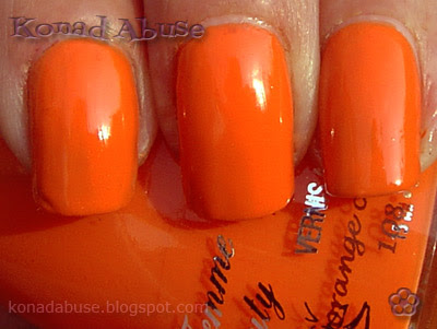La Femme Orange Cream Swatch