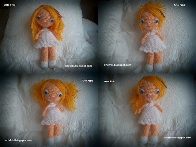 muñeca amigurumi doll crochet ganchillo