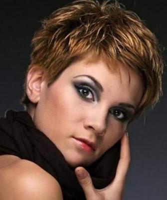 Highlight untuk rambut pendek wanita 2016