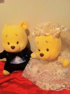 E-JOY CLOTHES ALTERATION: Winnie the Pooh - wedding costume