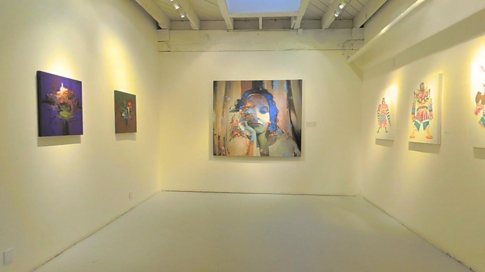 3d virtual art gallery app
