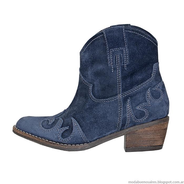 L'Tau colección otoño invierno 2015 moda calzado femenino.