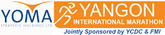 27 Jan - The inaugural YOMA Yangon International Marathon , Myanmar