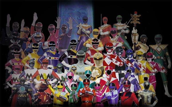 MegaPost Canciones Power Rangers