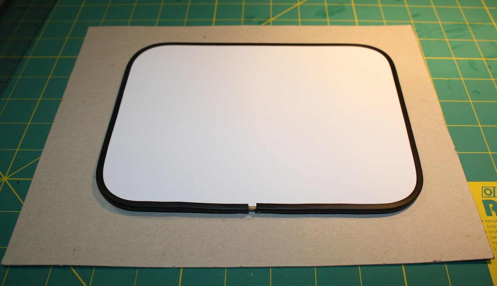 Dollar Store Dry Erase Board Makeover
