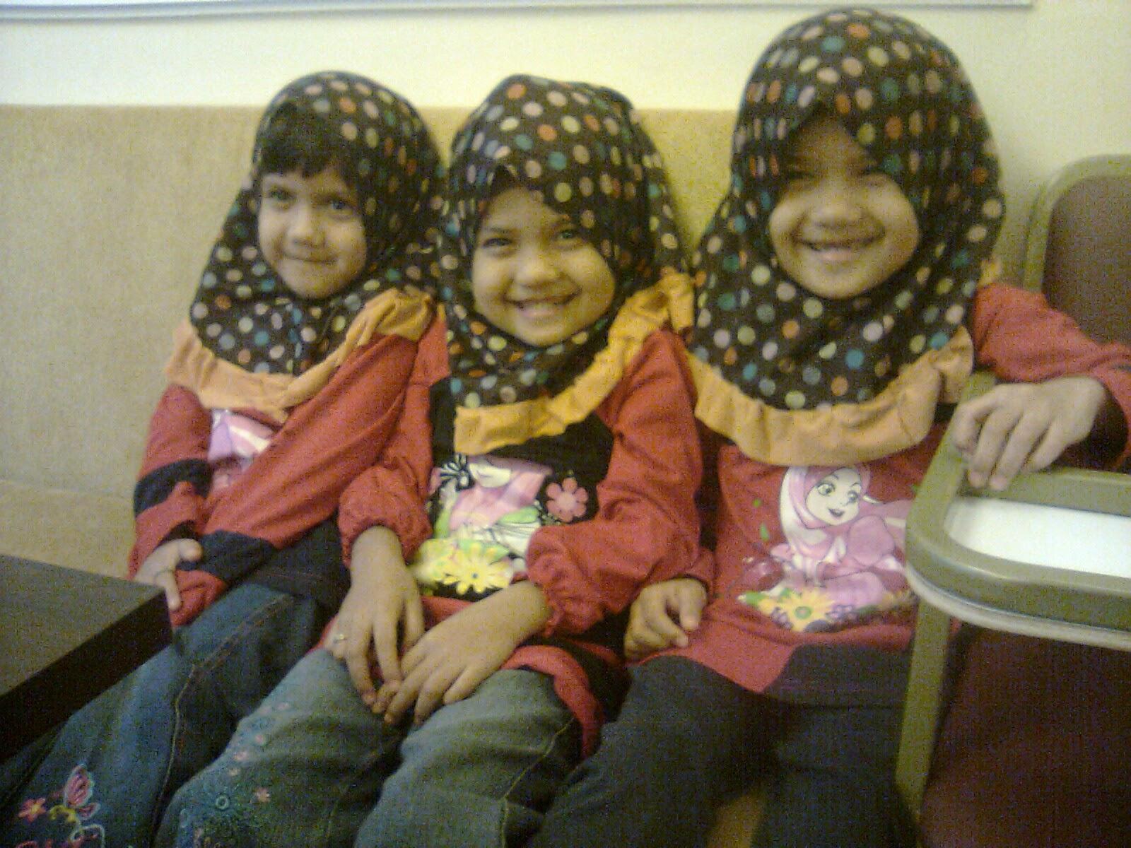 alya,niesa,syasya 5 tahun