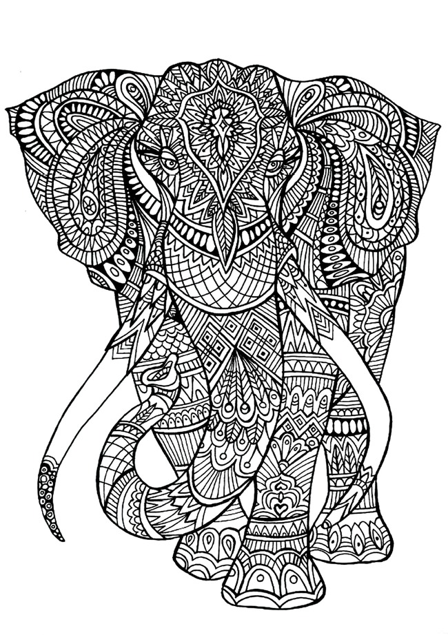 20 Free Coloring Pages For Adults PDF