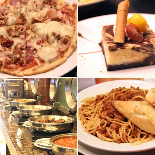Mango Tours Holiday Inn Manila Galleria Food Philippines