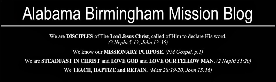 Alabama Birmingham Mission Alabama Birmingham Mission