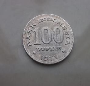 uang logam seratus rupiah