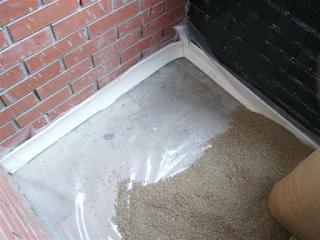 Специальная смесь для ремонта напольного покрытия лоджии,  балкона