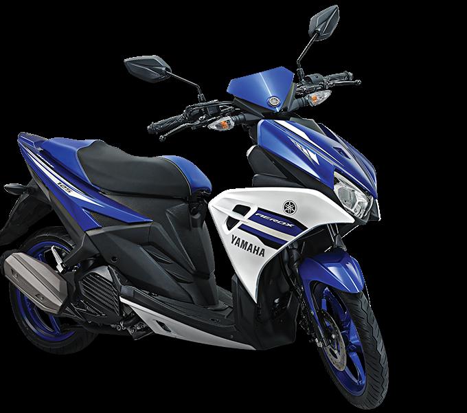 Spesifikasi Yamaha Aerox 125 LC - Tanpa VVA dan Blue Core