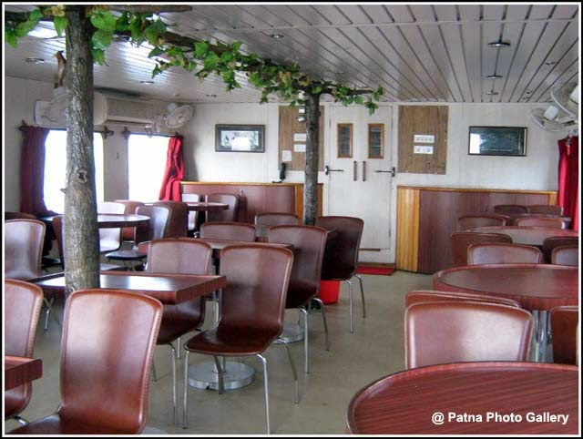 Inside View of the Floating Restaurant Patna