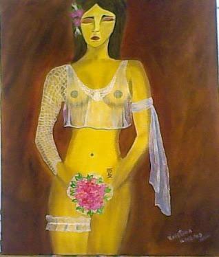 Minhas Pinturas ( NUDEZ DE MULHER )