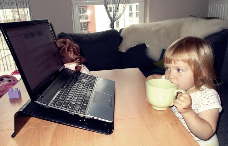 Dzień z życia małego blogera