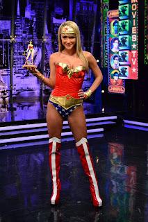 Sara Jean Underwood as Wonder Woman #3
