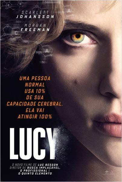 """Poster do filme """"Lucy"""""""