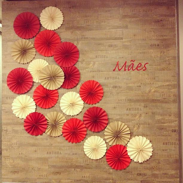 Casa de Colorir Decoraç u00e3o para o Dia das M u00e3es! Ainda dá tempo! -> Decoração Dia Das Mães Em Loja