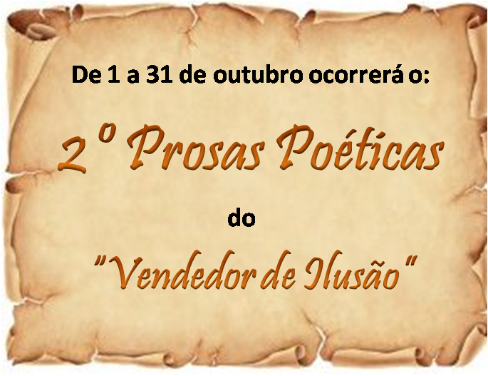 2º Prosas Poéticas