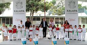 """""""Alcalde en tu Escuela"""" llega a jardín de niños Manuel M. Oropeza"""