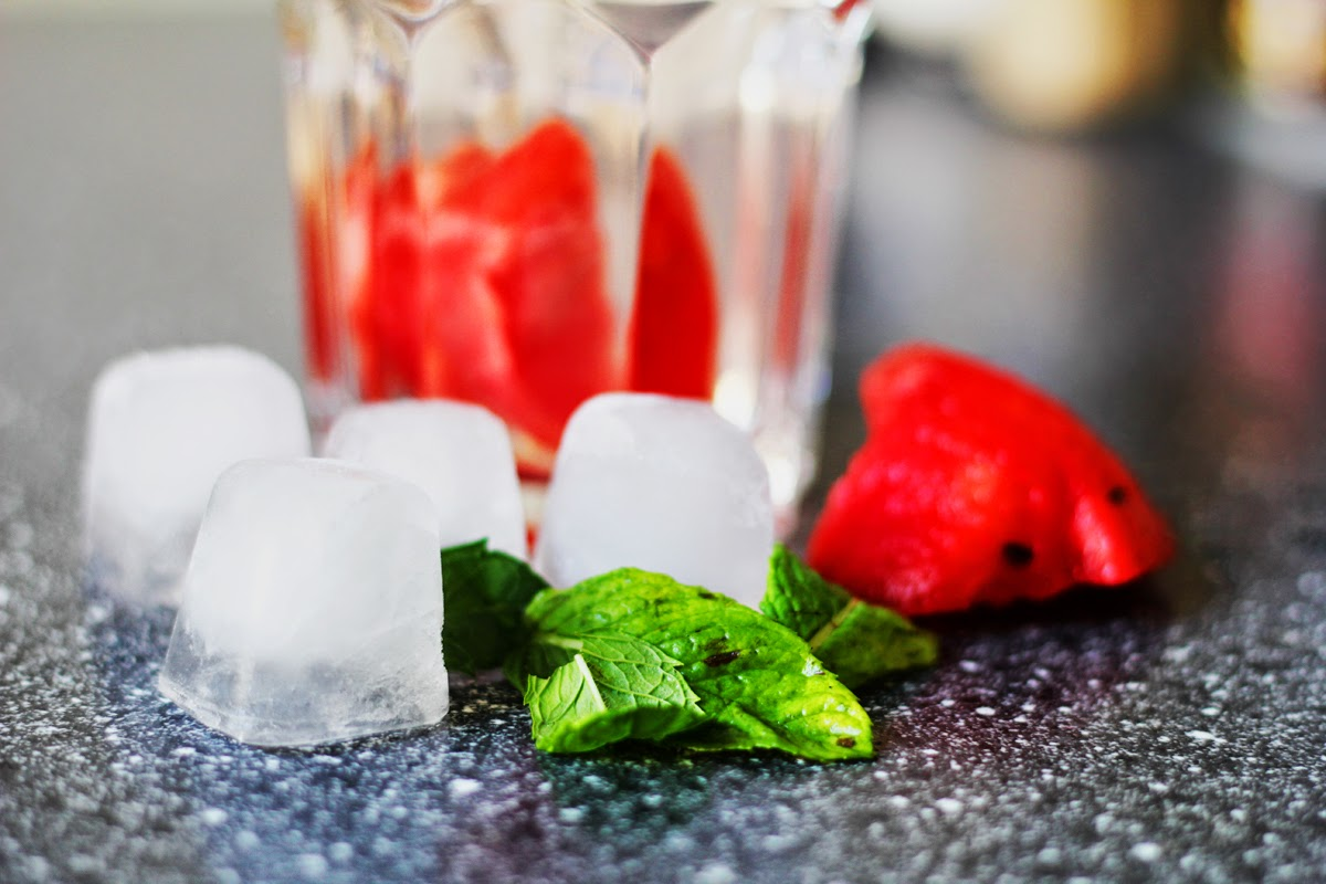icecubes mint watermelon detox myberlinfashion cook with me monday