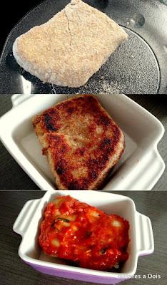 Montagem Bife a Parmegiana