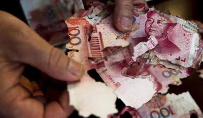 Kisah Penyimpanan Uang Yang Sia Sia