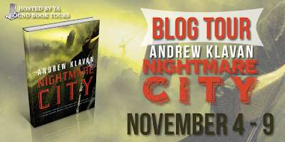 Blog Tour, Review and Giveaway: Nightmare City by Andrew Klavan