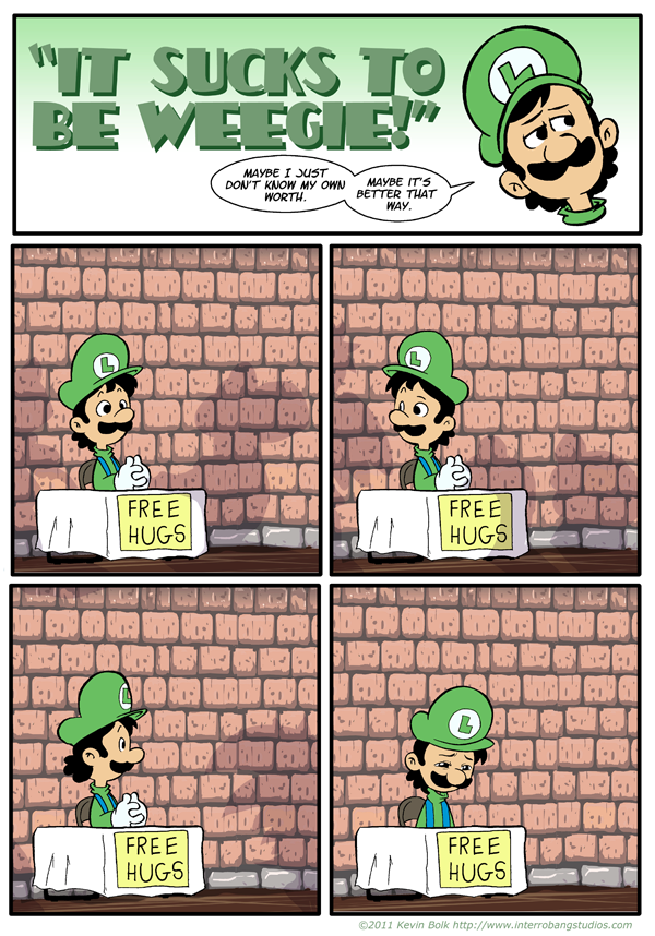 Poor Luigi