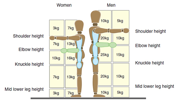 Ergonomics Today Lifting Guidelines