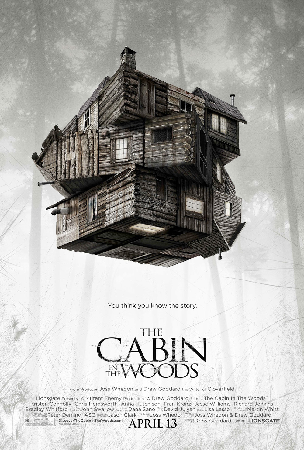 cabin in the woods 2012 info film genre film rilis film pemeran film