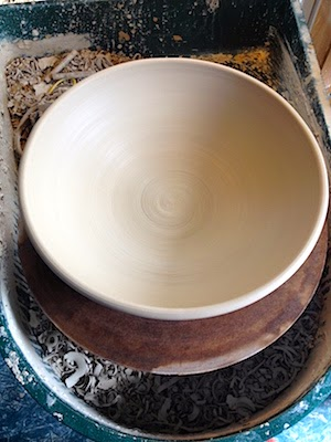 Large Ceramic Bowl by Lori Buff