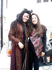 Con Myriam Beatriz (Py)