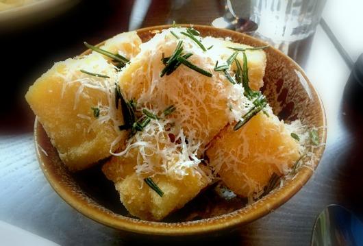 Jamie's Italian Nottingham Review | Morgan's Milieu: Jamie's Polenta Chips
